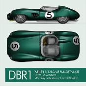 1/12 Maquette en kit ASTON MARTIN DB1 LE MANS 1959  model factory hiro  K782 COMING SOON