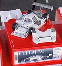 1/24 Maquette en Kit MERCEDES SAUBER C11 LM91 model factory hiro  K758